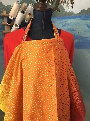NEW  >NURSING COVER MILKY BABY  hider* BREASTFEEDING COVER  Dots Stylish