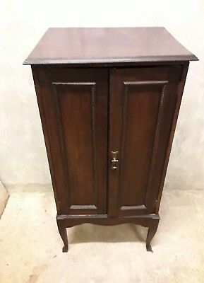Antique/Vintage Mahogany Sheet Music/Sewing/Record Cabinet
