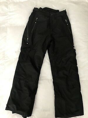 Mens Large Black Nevica Ski / Snowboard Trousers Salopettes - Worn Only 1 Week