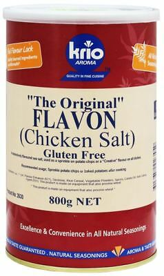Chicken Salt (Flavon) 800g Cannister - Krio Krush