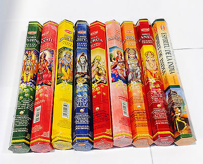 HEM MIXED BULK INCENSE STICKS - 9 Packets - 180 Sticks