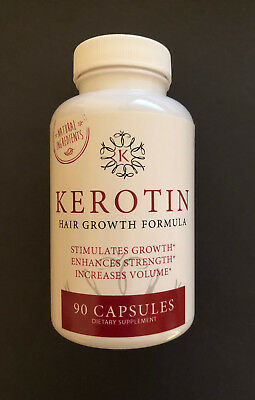 kerotin hair growth formula. Kerotin Hair Growth Formula 90 Capsules - Free Fast Delivery S