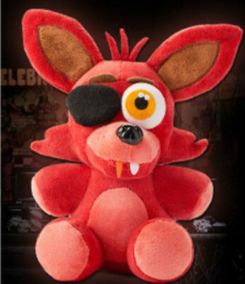 "FNAF Five Nights at Freddy's Sanshee Plushie Toy 6"" Plush Foxy Kids Toys Gifts"