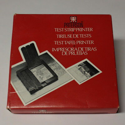 Paterson Test Strip printer New Old Stock Darkroom Black and White Printing