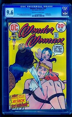 Wonder Woman #209 Cgc 9.6 Nm+   Bondage Cover *** 1 Of Only 11 ***