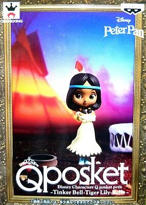 Q posket petit Disney Characters Tiger Lily / Peter Pan / 100% Authentic!
