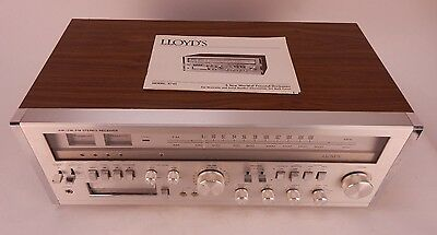 Vintage Lloyd's AM/FM-Stereo Receiver Model R745 with 8 Track