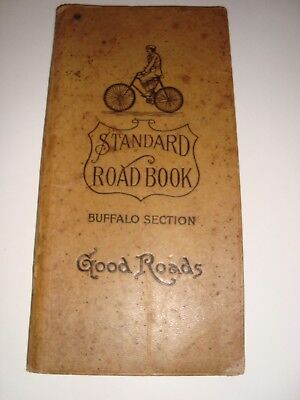 Vintage Standard Road Book~New York Series~Book 7 Buffalo Section from 19th Cent