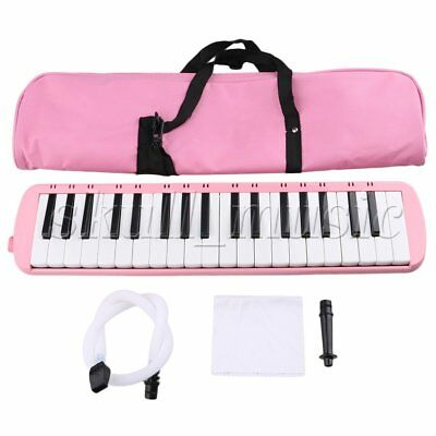 Pink 37 Piano Keys Melodica Pianica W/ Carrying Bag for Students