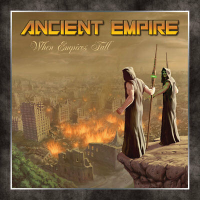 ANCIENT EMPIRE - When Empires Fall (NEW*DEBUT ALBUM*US METAL*ICED EARTH*J.PANZER