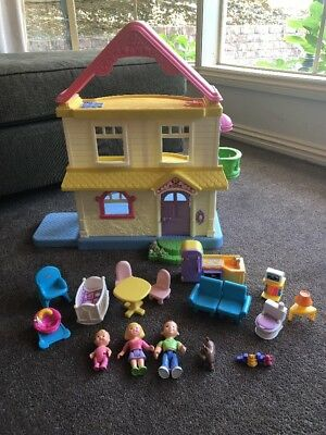 Fisher Price My First Dollhouse With Family & Furniture -  Local Pickup only