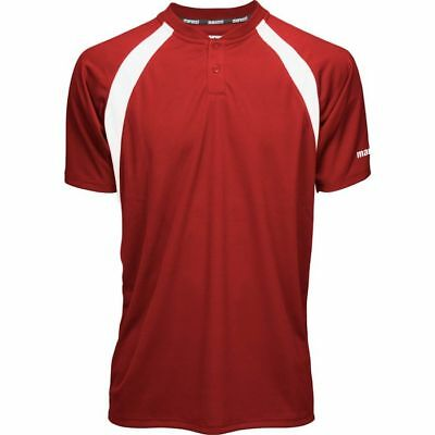 Marucci Adult Two-Button Performance Baseball Jersey