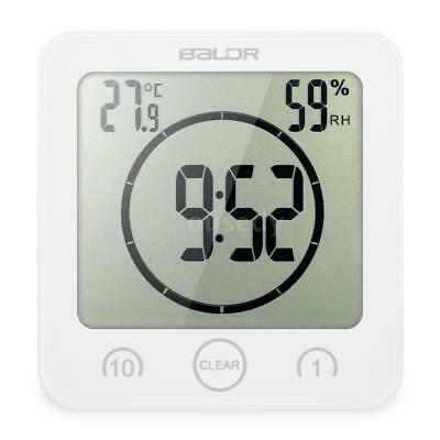 Multifunctional Digital Clock with Large Screen Display Time Temperature S5F1