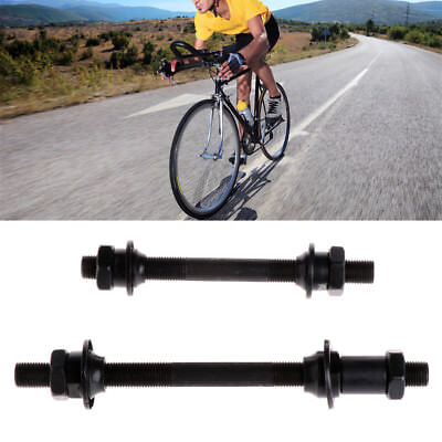 Mountain Bike Bicycle Quick Release Front Back Axles Hollow Hub Shaft Lever New