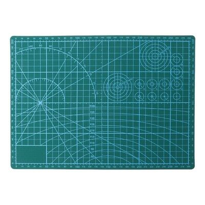 A4 PVC Self Healing Cutting Mat Craft Quilting Grid Lines Printed Board