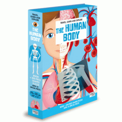Sassi - The Human Body Book and Puzzle