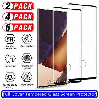 Case Friendly For Samsung Galaxy S10+ / S9 Plus Tempered Glass Screen Protector