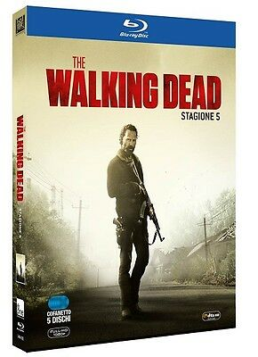 The Walking Dead - Stagione 5 - 5 Blu-Ray - Cofanetto Nuovo, Italiano