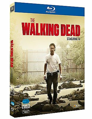 The Walking Dead Stagione 6 (5 Blu-Ray) - Cofanetto Italino, Nuovo