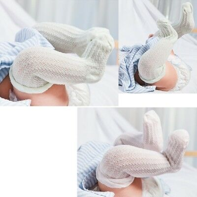 Knee High Baby Stockings Socks Breathable Soft Blend Cotton Summer Infants 0-5Y