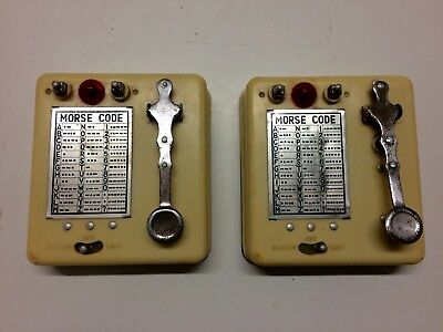 Vintage Toy Morse Code -Empire Made-untested (box not included)