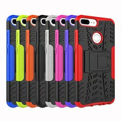 Shockproof Hybrid Armor Brushed Rugged Hard Case Cover For Huawei Honor 9 Lite