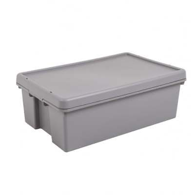Wham Storage 36 Litre Wham Bam Upcycled Plastic Box with Lid