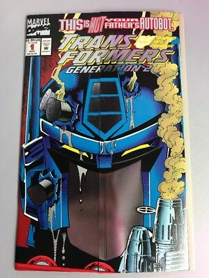 Marvel Comics Transformers Generation 2 #1 Bi Fold Foil  Cover