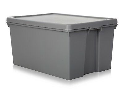 Wham Storage 96 Litre Wham Bam Upcycled Plastic Storage Box with Lid