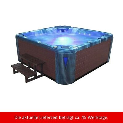 Whirlpool außen IN598 EXTREME Ocean Wave braun SPA Wellnes Outdoor