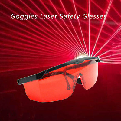 Protection Goggles Laser Safety Glasses Red Blue With Velvet Box  7P