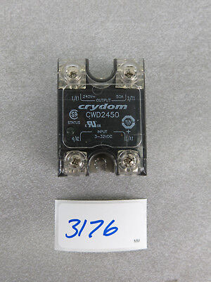 Crydom CWD2450 Solid State Relay Output 240V 50A Input 3-32 VDC