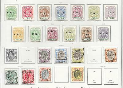Transvaal stamps Collection of 21 CLASSIC stamps HIGH VALUE!