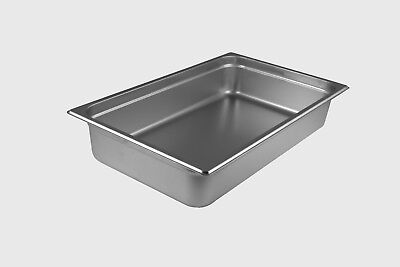 StarkCook Steam Table Pan, Stainless Steel, Full Size, STPF224