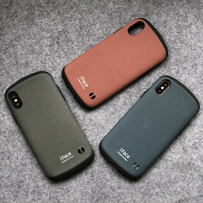 iface Hybrid Matte Classic Shockproof Hard Case For iPhone X XR XS Max 7 8 Plus