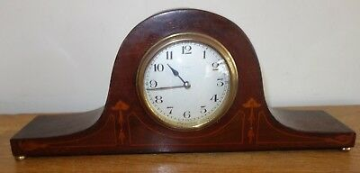 Japy Freres Cie  French wooden mantel clock