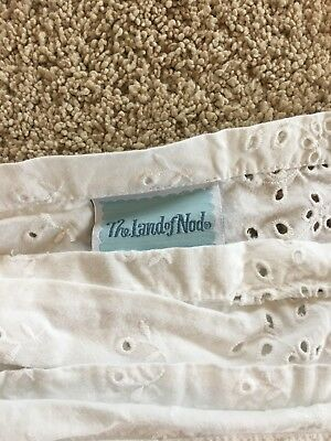 land of nod crib skirt