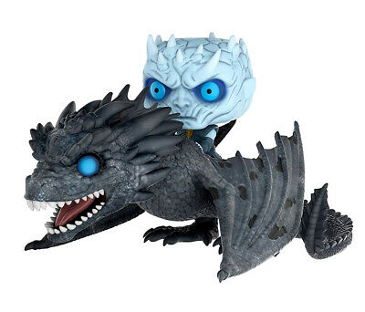 FunKo Funko Game of Thrones Viserion Pop! Vinyl Ridez with Night King Figure and