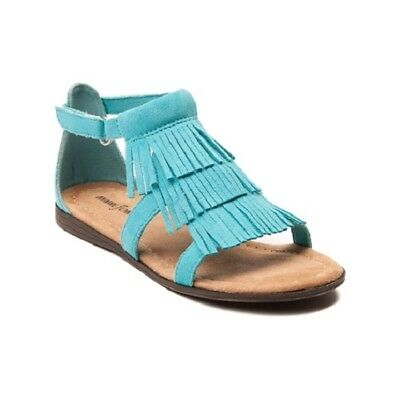 Minnetonka Maya Turquoise Ankle Strap Girls Sandals Choose Your Size Brand New