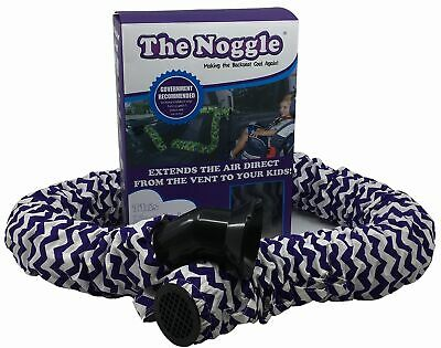 Noggle Extend Your Air Conditioning or Heat to Your Kids (8ft-Purple Squiggles)