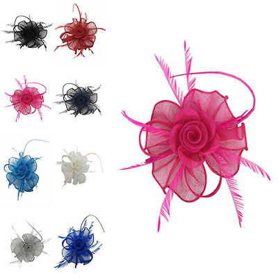 Finecy In - Ladies Day Women Royal Ascot Occasion Flower Petal Hat Fascinator