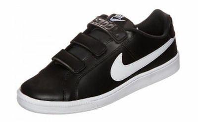 SCARPE NIKE Sneakers Trainers Sportive COURT ROYAL w NERO BLACK 844798 010