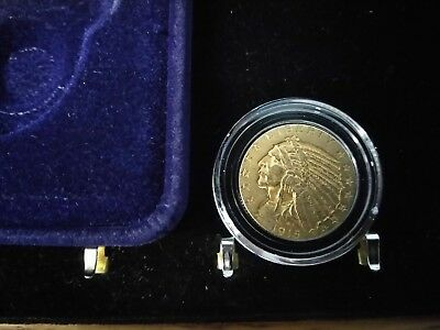 1915- $5.00 Gold Indian Coin in dot nice