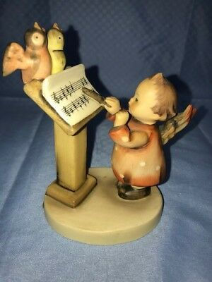 "HUMMEL FIGURINE #169 ""BIRD DUET"" 4"", good condition.  Some crazing on the base."