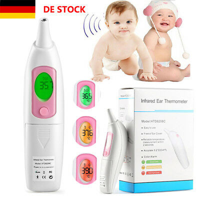Infrarot Thermometer Digital Kinder Baby Fieber Fieberthermometer Ohr Kinder LCD
