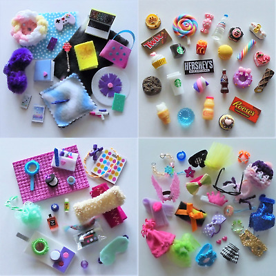 Littlest Pet Shop LPS 6 RANDOM Accessories Clothes Lot of Items in 1 Gift Bag No