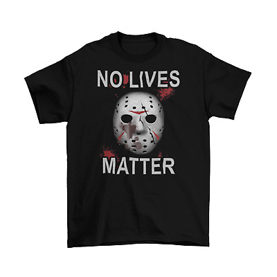Friday The 13th T-Shirt Unisex Adult Horror No lives Matter Halloween Sizes New