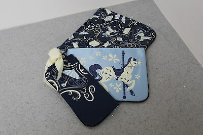 NEW Disney Mary Poppins Travel/Makeup Bags Set Of 3 FREE S&H
