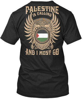 Palestine Is Calling T S - And I Must Go Premium Tee T-Shirt