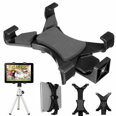 Adjustable Tablet Foldable Tripod Stand Holder Bracket Cradle w/ Mount For iPad